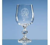 Claudia Large Lead Crystal Goblet  by Gopromotional - we get your brand noticed!