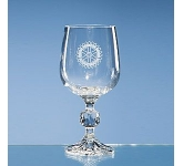 Claudia Lead  Crystal Goblet
