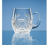 Large Lead Crystal Panel Barrel Tankard  by Gopromotional - we get your brand noticed!