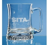 Large Curved Star  Base Tankard  by Gopromotional - we get your brand noticed!