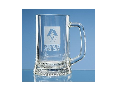 Large Straight Sided Stern Tankard
