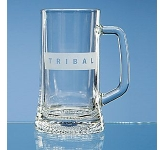 Small Straight Sided Stern Tankard  by Gopromotional - we get your brand noticed!