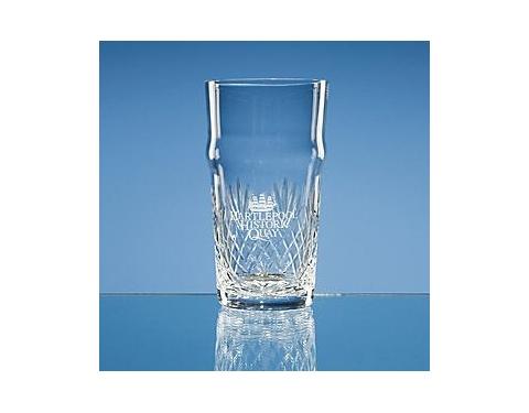 Lead Crystal  Beer Glass