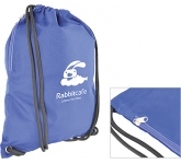 Zippy Heavyweight Drawstring Bag  by Gopromotional - we get your brand noticed!