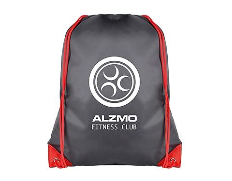 Essential Black Budget Drawstring Bag