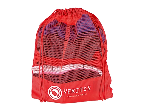 Javelin Promotional Mesh Drawstring Bag