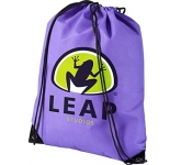 Premium Recycled Drawstring Bag  by Gopromotional - we get your brand noticed!