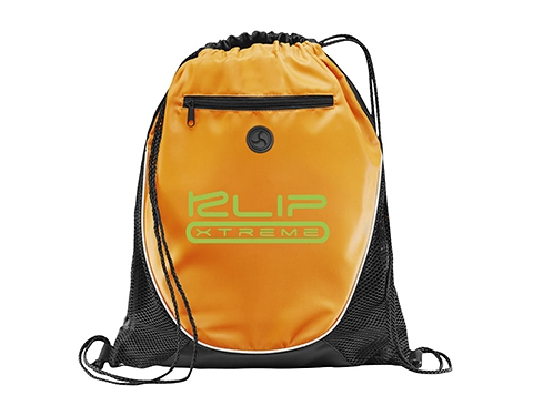 Condor Zipped Printed Drawstring Bag