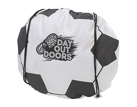 Football Drawstring Bag