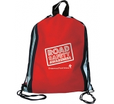 Starburst Reflective Drawstring Bag  by Gopromotional - we get your brand noticed!