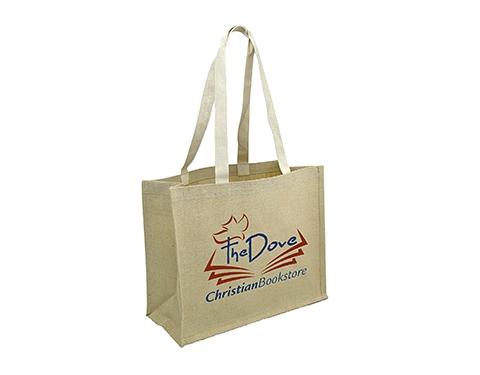 Brighton Natural Cotton Jute Bag