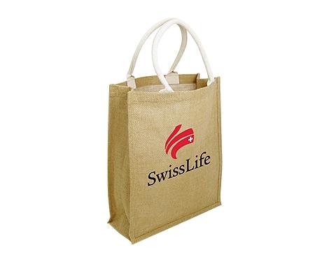 Dundee Natural Branded Jute Bag