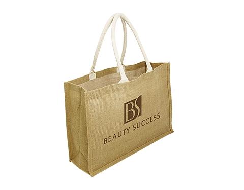 Sherborne Expo Natural Branded Jute Bag