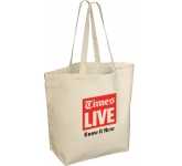 Hereford 10oz Heavy Duty Natural Canvas Tote Bag