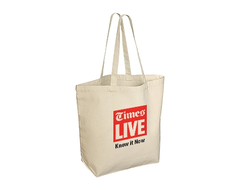 Hereford 10oz Heavy Duty Natural Cotton Canvas Tote Bag