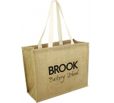 Lewes Natural Jute Bag