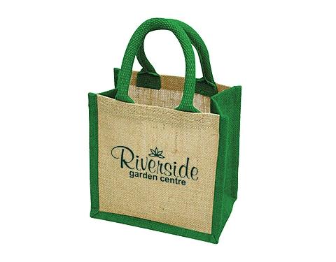 Save On Lichfield Mini Bag For Life Jute Bag Printed With