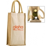 Halifax Combo Jute Bottle Bag