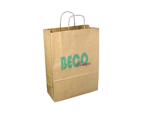 Large Boutique Twist Handled Paper Carrier Bag