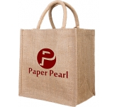 Hawthorn Small Jute Gift Bag  by Gopromotional - we get your brand noticed!