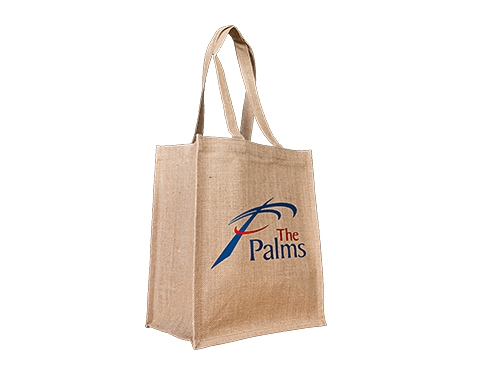 Juniper Standard Printed Natural Jute Bag