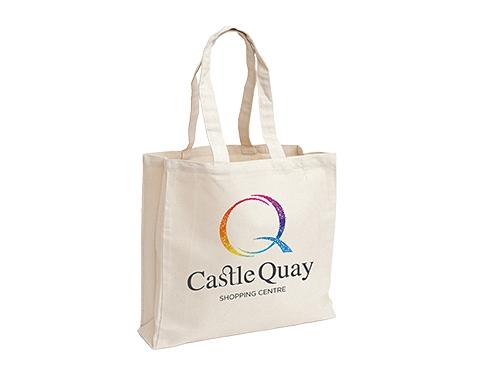 Ormesby 10oz Heavy Duty Natural Cotton Canvas Shopper