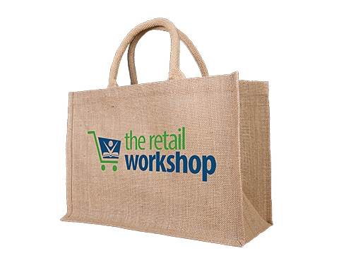 Pine Medium Natural Jute Shopping Bag