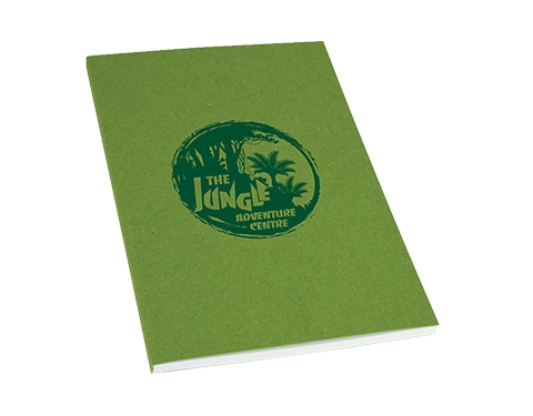 A4 Recycled Kraft Paper Perfect Bound Notepad