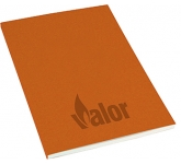 A5 Recycled Kraft Paper Perfect Bound Notepad  by Gopromotional - we get your brand noticed!