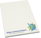 A6 Recycled Notepad  by Gopromotional - we get your brand noticed!