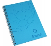 A6 Recycled Till Receipt Wire Bound Notepad  by Gopromotional - we get your brand noticed!