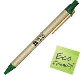 Amazon Flat Clip Recycled Pen  by Gopromotional - we get your brand noticed!