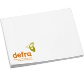 Recycled 125 x 75 Sticky Note  by Gopromotional - we get your brand noticed!