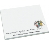 Recycled A7 Sticky Note  by Gopromotional - we get your brand noticed!