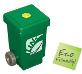 Wheelie Bin Recycled Pencil Sharpener  by Gopromotional - we get your brand noticed!
