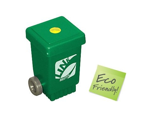 Wheelie Bin Recycled Pencil Sharpener