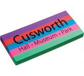 Giant Printed Eraser  by Gopromotional - we get your brand noticed!