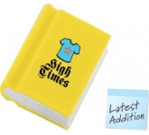 Book Shaped Eraser  by Gopromotional - we get your brand noticed!