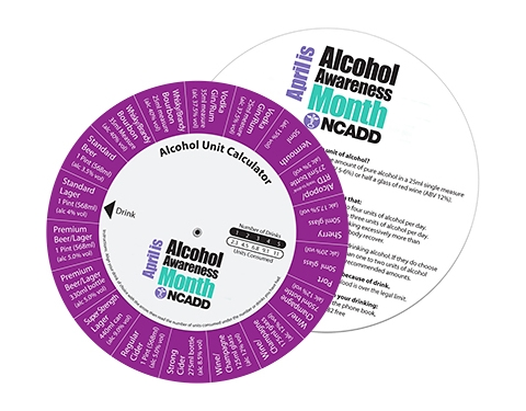 Alcohol Units DataDisc