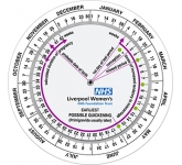 Pregnancy Calculator DataDisc  by Gopromotional - we get your brand noticed!