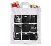 Flexi-Loop Plastic Carrier Bag  by Gopromotional - we get your brand noticed!