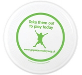 Medium Recycled Frisbee  by Gopromotional - we get your brand noticed!