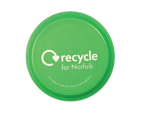 Mini Branded Recycled Frisbee