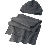 Denver Fleece Hat & Scarf Set  by Gopromotional - we get your brand noticed!