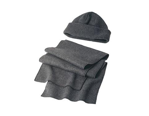 Denver Fleece Hat & Scarf Set