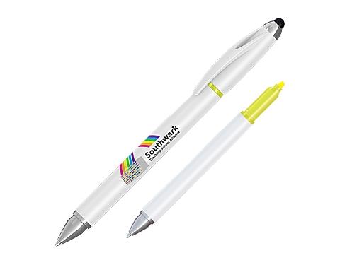 Hi-Cap Multi-Function Highlighter Pen