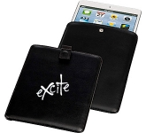 Boston Leather Mini iPad Sleeve  by Gopromotional - we get your brand noticed!