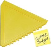 Triangular Ice Scraper  by Gopromotional - we get your brand noticed!