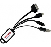 PowerLink USB Multi Cable  by Gopromotional - we get your brand noticed!