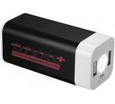 Austin Mega Flashlight Power Bank - 8000mAh  by Gopromotional - we get your brand noticed!